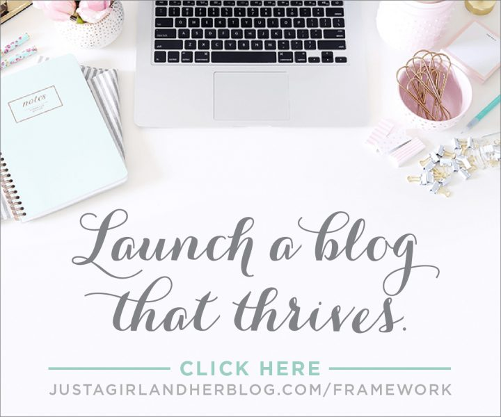 Building a Framework, Abby Lawson, blogging, launch a blog, monetized blog, side business, side hustle