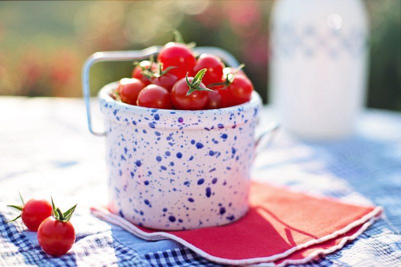 cherry tomatoes, gardening, growing, growing tomatoes, vegetables, summer, food, fresh,