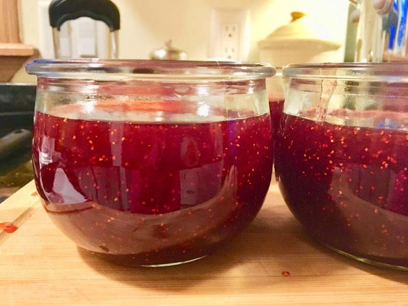strawberries, strawberry jam, homemade jam, Certo, pectin, Certo liquid pectin, sugar, butter, Weck jars, homemaking, cooking, jams and jellies, canning, home preserving, homemaking, organic, fruit
