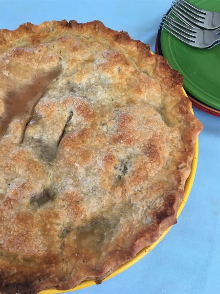 cherry pie, Father's Day, homemade, homemade pie, lost art, celebrate dad, homemaking, domestic skills, like grandma
