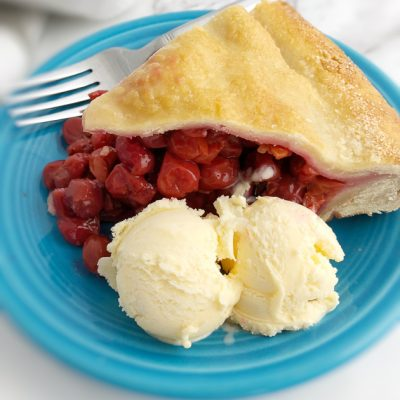 Father's Day Cherry Pie