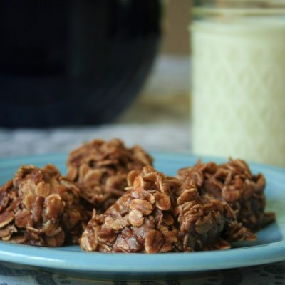 Easy Chocolate No-Bake Cookies