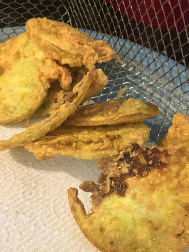 fried green tomatoes, comeback sauce, side dish, garden, garden vegetables, sauce, south,