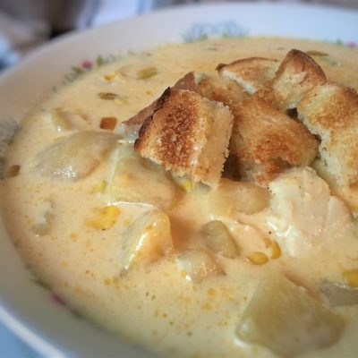 Warm Up with Chicken Corn Chowder