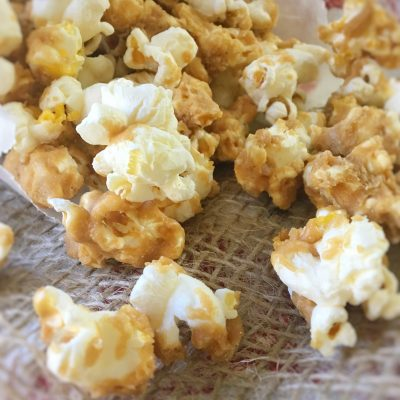 Caramel Corn from Scratch