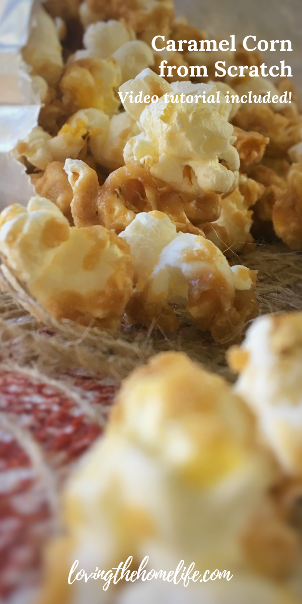 how to make caramel corn, caramel corn from scratch, homemade caramel corn, super bowl party food, game day, tailgating food, tailgating recipes, super bowl party recipes