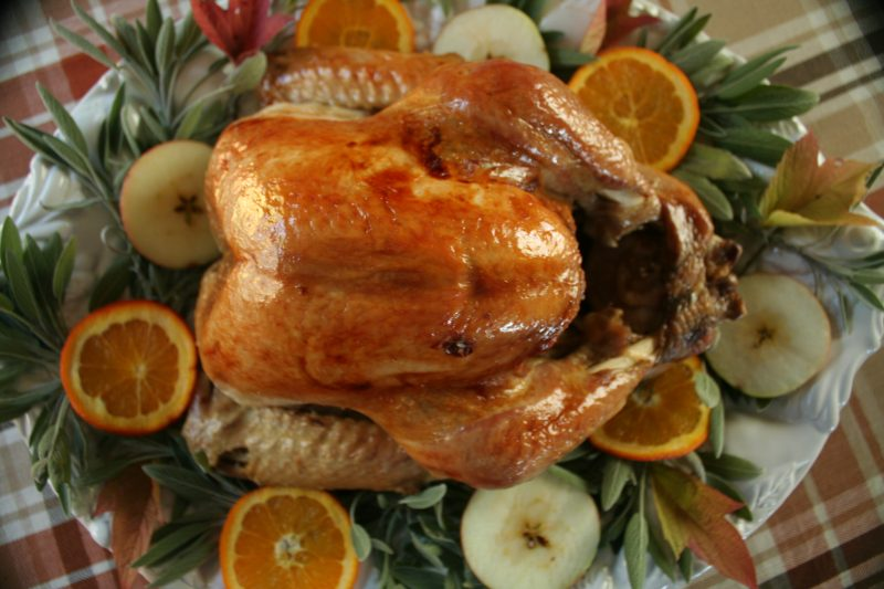 Thanksgiving turkey, turkey, bake a turkey, cook a turkey, frozen turkey, prepare a turkey, butter, roasting pan, oven, dinner