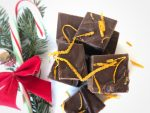 microwave fudge, Christmas candy, Christmas fudge, Christmas, fudge, easy fudge recipe, white chocolate peppermint, salted caramel, dark chocolate orange