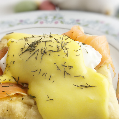smoked salmon eggs benedict, eggs benedict, brunch, breakfast, Easter brunch, Mother's Day brunch, smoked salmon, puff pastry